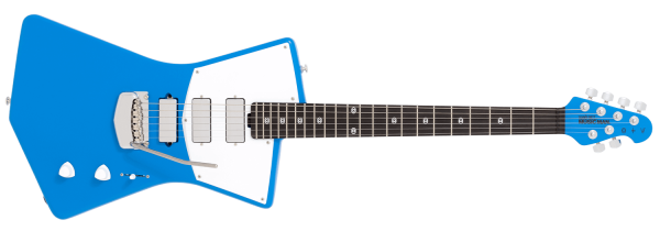 Ernie Ball Music Man St. Vincent MASSEDUCTION Blue