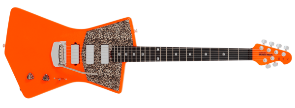 Ernie Ball Music Man St. Vincent MASSEDUCTION Leopard print