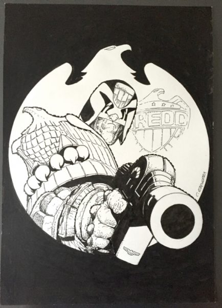 "Carlos Ezquerra: Judge Dredd ""I Am The Law"""