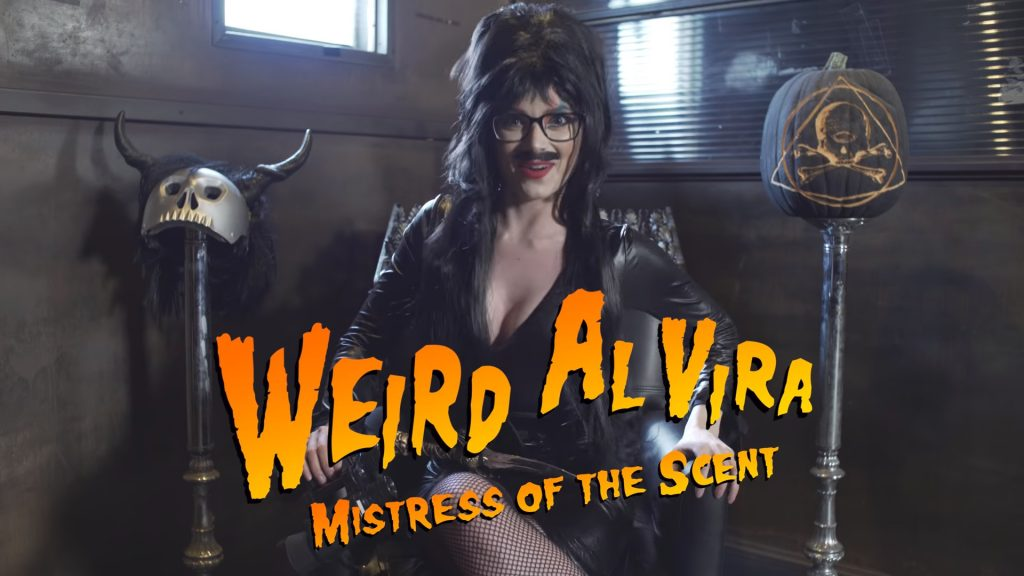 Weird AlVira (Two Minutes to Late Night: «The Halloween Special» [S01 E06])