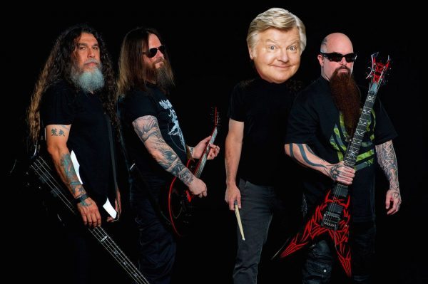 Slayer × Benny Hill