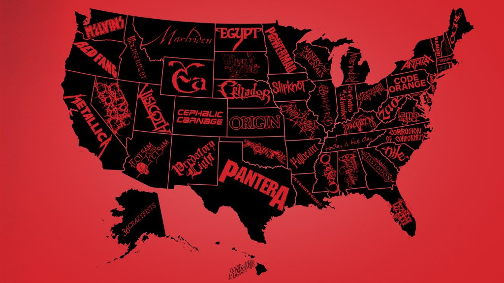 The United States of Metal