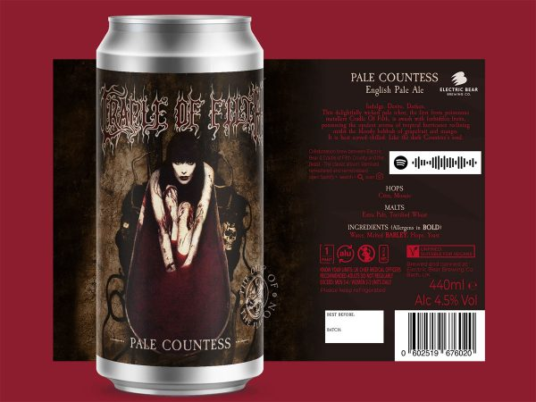 Creadle of Filth - Pale Countess - English Pale Ale
