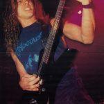 Poster de Chuck Schuldiner en Kerrang!